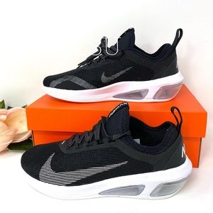 Nike Air Max Fly Black White Canvas  W AUTHENTIC